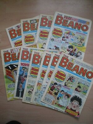 Beano Comics, Collection Of 10 Comics, 1993