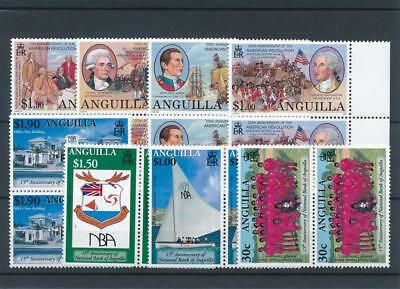 [18171] Anguilla 2001 : Good Lot of Very Fine MNH Stamps
