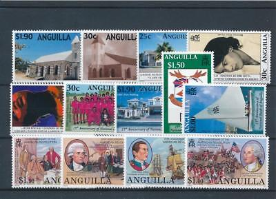 [18172] Anguilla 2001 : Good Lot of Very Fine MNH Stamps