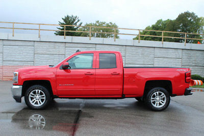 """2016 Chevrolet Silverado 1500 4WD Double Cab 143.5"""" LT w/1LT 4WD Double Cab 143.5"""" LT w/1LT 4 dr Truck Automatic 5.3L 8 Cyl RED HOT"""