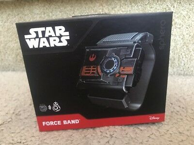 Disney Star Wars Force Band by Sphero For BB-8 Droid New Never Opened