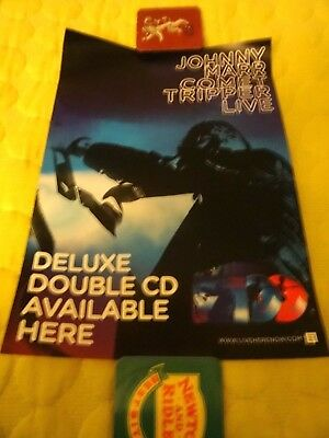 Johnny Marr Call The Comet Tour 2018 Rare Uk Poster For Live Cd The Smiths