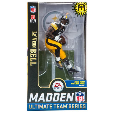 IN STOCK Mcfarlane Madden 19 NFL Series 2 Le'Veon Bell Pittsburgh Steelers