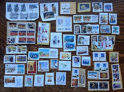 Collection Of Greece Stamps Kiloware