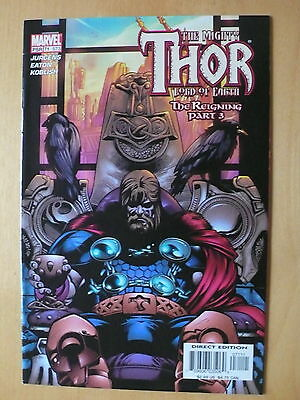 Marvel Comics The Mighty Thor vol 2 issue 71 (573)  Lord of Earth Reigning prt 3