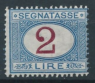 [54763] Italy Due 1870-1903 good MNH Very Fine stamp $150