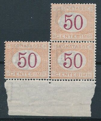 [54771] Italy Due 1870-1903 lot 3x good MNH Very Fine stamp