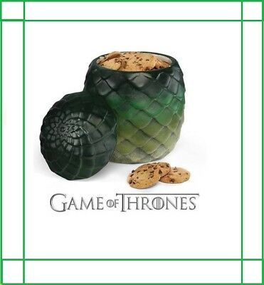 DRAGON EGG CANISTER Cookie Jar LIMITED EDITION GAME OF THRONES Halloween Prop