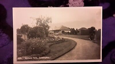 Old postcard of Neilson Park, Haddington, Scotland - James Orr - Posted