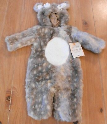 NWT Pottery Barn Kids WOODLAND BABY FAWN Deer Halloween Costume 12-24 Months