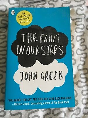 The Fault In our Stars - John Green Reading Book New