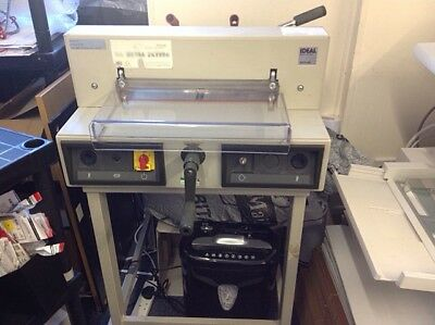 Ideal 3915 - 95 Electric Guillotine
