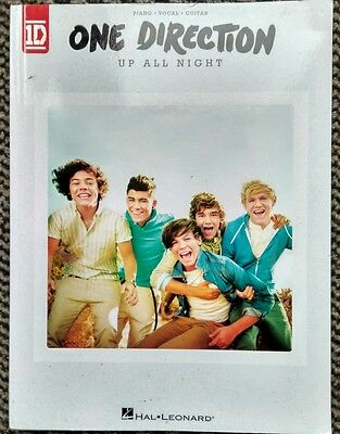 One Direction 1D - Up All Night - vocal, piano & guitar songbook