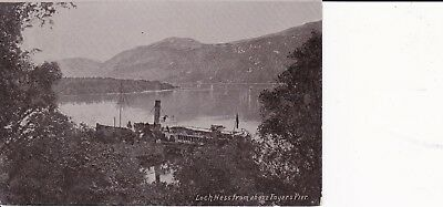 """MacBrayne Steamer PS """"Gondolier"""" berthed FOYERS PIER Loch Ness Inverness Corpach"""