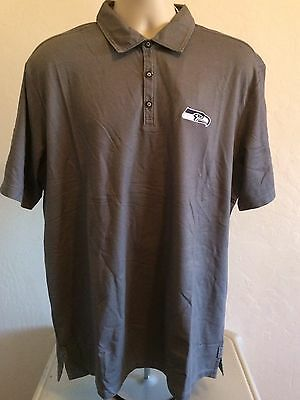 Seattle Seahawks Tommy Bahama NFL Men s Double Eagle Spectator Polo Shirt L  NWT f338f4966