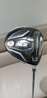 TAYLORMADE M2 Golf Adjustable Driver, 10.5 degree, Regular Shaft, Good Condition