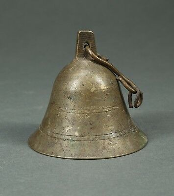 African Art old West African Bronze Bell, 3 inches