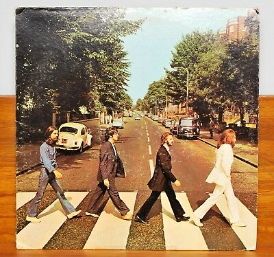 The Beatles~Abbey Road~1976 Capitol Reissue (So-383)~Cropped Cover