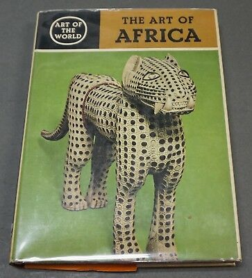 Book: the Art of Africa Art of the World, 1967, Leuzinger