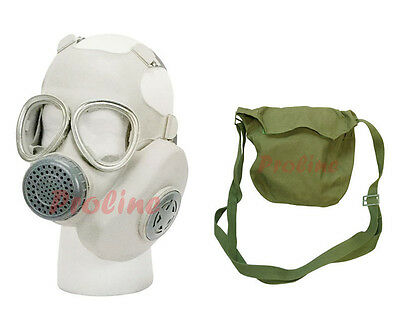 Surplus Unissued Military Vietnam Chinese Gas Mask w/ Carrying Bag Pouch