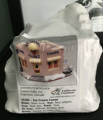 California Creations, Ice Cream Cones Shop, Ready to Paint