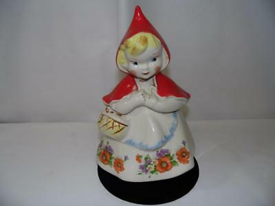 """13"""" Decorative Little Red Riding Hood Cookie Jar"""