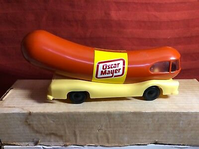 """1950s Oscar Mayer Weinermobile Promo Model Bank 10"""" Factory Issue"""