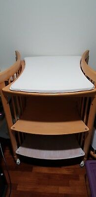 Stokke Care Change Table With Change Mat, Drawer And Side Trays