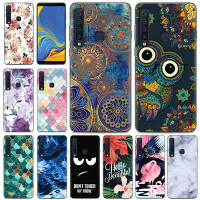 For Samsung Galaxy A9 A8 A7 A6 2018 Slim Shockproof Painted Soft TPU Case Cover