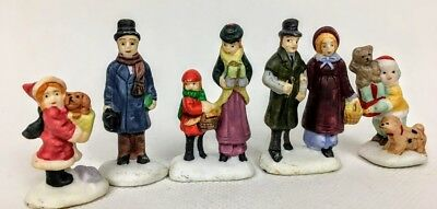Lot of 5  Christmas Village Figurines