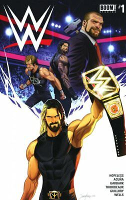 WWE 1 Triple H The Shield Hopeless Rob Guillory World Wrestling Entertainment VF