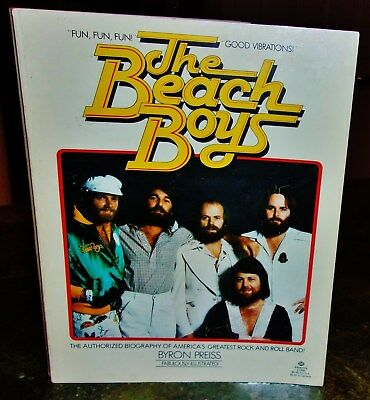 The Beach Boys 1979 Pb Book Biography Antique By Byron Preiss