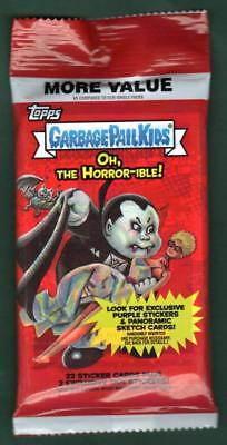 Oh, The Horror-ible! GARBAGE PAIL KIDS Fool's Gold /50 Hot Pack GPK Topps 2018.