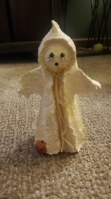 Broomsnickle 1997 Ghost Adorable 7'' Tall Great Condition Enesco