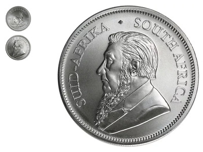 2018 1oz 99.999 Silver Bullion South Africa Silver Krugerrand Coin in Capsule