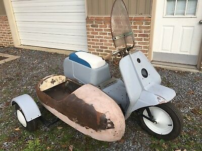1962 Harley-Davidson Other  1962 HARLEY TOPPER WITH SIDECAR PROJECT