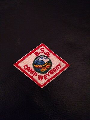 Boy Scout Delaware Valley Council Camp Weygadt Hat Diamond Patch Pennsylvania