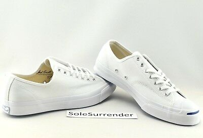 ef872025769 Converse Jack Purcell Signature OX - SIZE 10 - 156956C JP White OG Blue Low  Lo