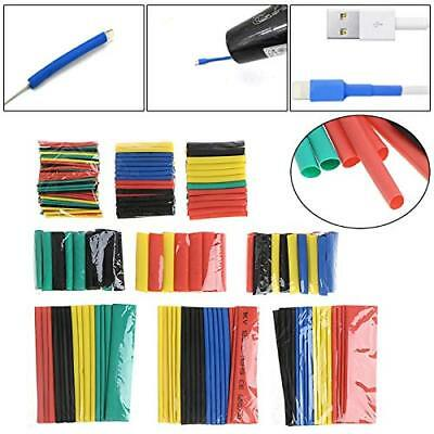 328x Heat Shrink Tubing Insulation Shrinkable Tube 2:1 Wire Cable Sleeve Kit