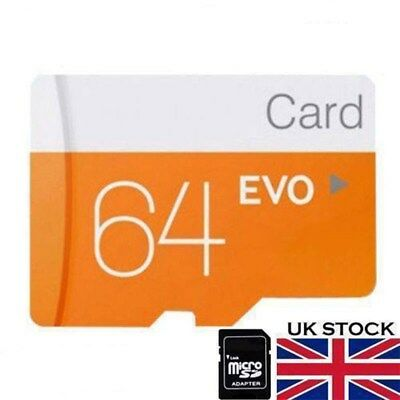 64GB Micro SD Card Class 10 TF Flash Memory SDHC 64G For Phone Tablet Camera HOT