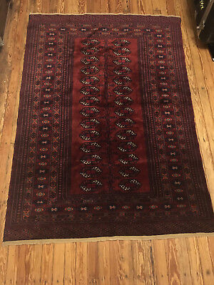 Persian hand woven rug 71x50 inches