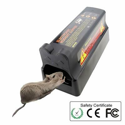 US Electronic Mouse Trap Victor Control Rat Killer Pest Electric Zapper Rodent.