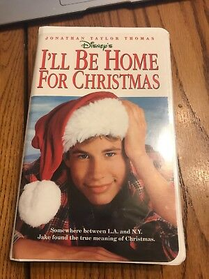 Ill Be Home For Christmas Movie.I Ll Be Home For Christmas Vcr Vhs Tapes Childrens Disney