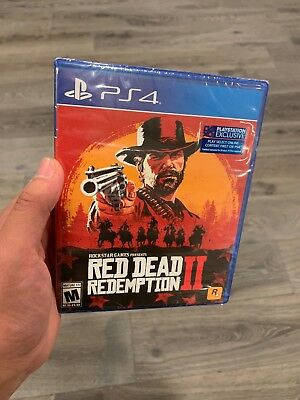 Red Dead Redemption 2 (from ps4 pro rdr2 bundle) - PlayStation 4 - New. Sealed.