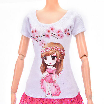Beautiful DollSuit Handmade Party Clothes For  Noble Doll Best Gif Lh