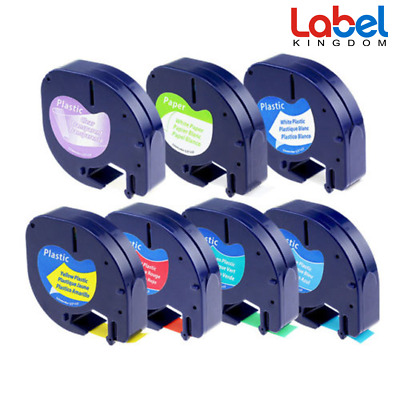 7PK 16952 91330 91331 91332 91333 334 335 label tape compatible for DYMO 12mm 4m
