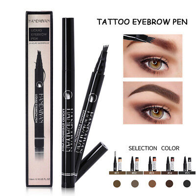 TatBrow Microblade Waterproof Pen Tip Four Fork Eyebrow Tattoo Pen  NEW
