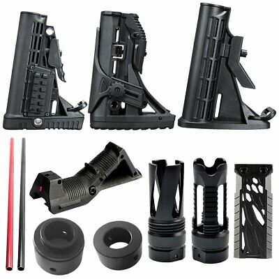 JinMing Gen8 M4A1 Tactical Nylon Buttstock CCA For Gel Ball Blaster Toy Gun PPB