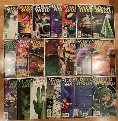 Green Arrow (2001 2nd series) - DC Comics - #1-21 lot