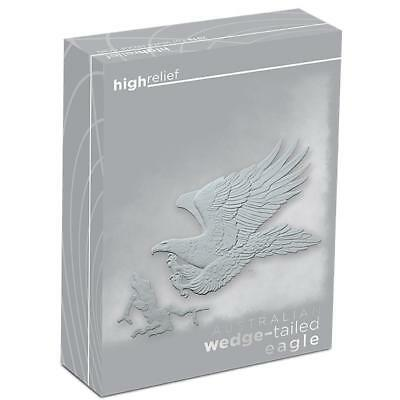 2016. Australia Wedge-Tailed Eagle High Relief 1oz Silver Proof Coin -